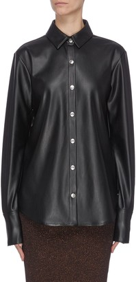 Alexander Wang Faux leather shirt