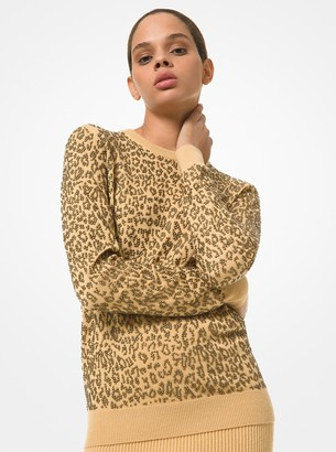 Michael Kors Collection Grommeted Cashmere Sweater