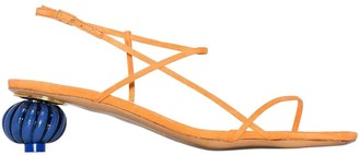 Jacquemus Manosque Multi-strap Sandals Orange