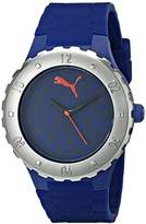 Puma Women's PU103432003 Blast S Camo Blue Analog Display Quartz Blue Watch
