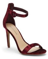 Saks Fifth Avenue Open Toe Top Buckle Sandals