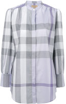 Burberry checked shirt - women - Cotton - 4