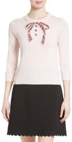 Kate Spade Women's Embellished Bow Sweater