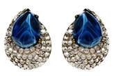 Ben-Amun Ben Amun Maharaji Crystal Button Earrings