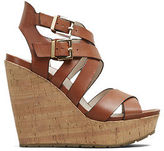 Kenneth Cole Corbin Leather Wedge