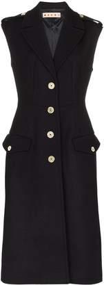 Marni brushed-wool waistcoat