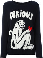 Chinti and Parker Curious monkey jumper - women - Cashmere - XS