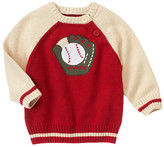 Gymboree Baseball Glove Sweater