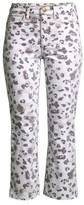 Joe's Jeans Callie High-Rise Crop Bootcut Animal-Print Jeans