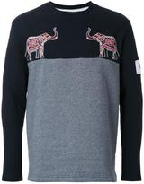 Yoshio Kubo elephant patch sweatshirt