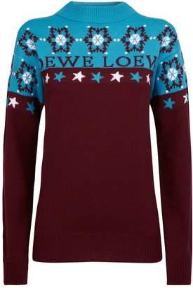 Loewe Wool Snowflake Sweater
