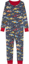 Hatley Demolition derby print organic cotton pyjamas 4-12 years