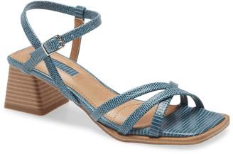 Topshop Divine Strappy Block Heel Sandal