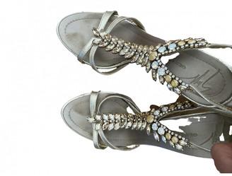 Giuseppe Zanotti Gold Leather Sandals