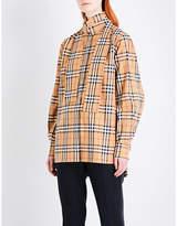 Burberry Vintage check cotton-poplin shirt