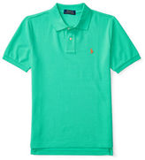 Ralph Lauren Boys 8-20 Logo Embroidered Cotton Polo