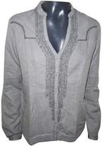 Wrangler Grey Cotton Top for Women