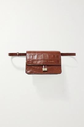 Chylak - Mini Croc-effect Leather Belt Bag - Tan