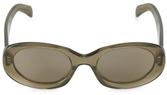 Celine 52MM Oval Sunglasses