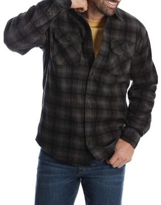 Wrangler Men'S And Big & Tall Wicking Fleece Shirt Jacket, Up To Size 5Xl