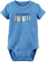 Carter's My First Birthday Bodysuit, Baby Boys (0-24 months)