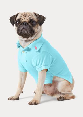 Ralph Lauren Cotton Mesh Dog Polo Shirt