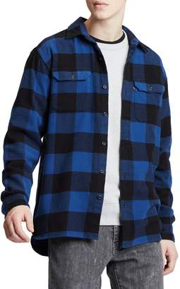 Levi's Jackson Slim Fit Button-Up Flannel Work Shirt