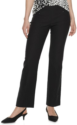 Apt. 9 Petite Pull-On Bootcut Pants