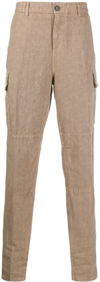 Eleventy Straight-Leg Side Pocket Trousers