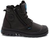 Palladium Hi Cuff WPSK Fur-Lined Nubuck Leather Boots