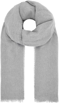 Accessorize Wells Supersoft Blanket Scarf - Grey