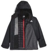 The North Face Boy's Thermoball(TM) Triclimate 3-In-1 Waterproof Snow Jacket