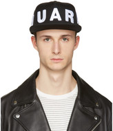 DSQUARED2 Black Embroidered Logo Cap