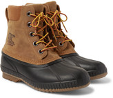 Sorel - Cheyanne Ii Waterproof Suede And Rubber Duck Boots