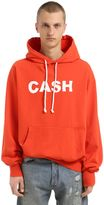 The Incorporated Cash Hooded Printed Cotton Sweatshirt