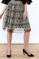 Alythea Embroidered Statement Skirt