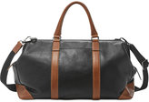 Fossil Men's Leather Mayfair Framed Duffel Bag