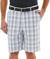 Haggar Cool 18 Classic-Fit Flat-Front Patterned Shorts