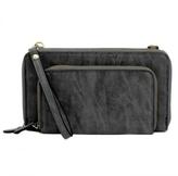 Joy Susan Accessories Mini Convertible Zip Wallet