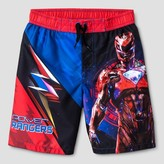Power Rangers Boys' Swim Trunk - Red