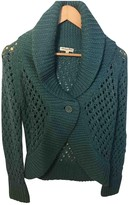 American Retro Turquoise Wool Top for Women