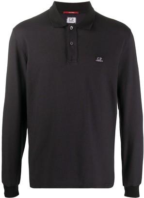 C.P. Company Long Sleeve Polo Shirt