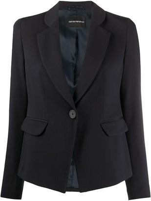 Emporio Armani Tailored Single-Breasted Blazer