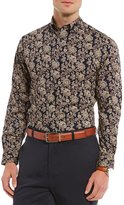Daniel Cremieux Signature Big & Tall Printed Long-Sleeve Woven Shirt