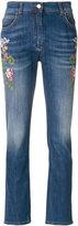 Etro - jean à fleurs brodées