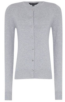 Dorothy Perkins Womens Grey Marl Cardigan, Grey