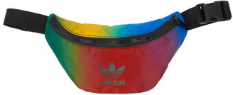 adidas Red and Blue Paolina Russo Edition Logo Waist Pouch