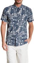 Quiksilver Short Sleeve Print Modern Fit Shirt
