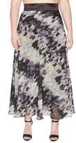 OHLENDORF atelier Black/white Maxi Skirt