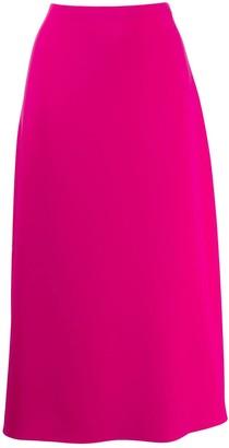 Theory High-Waisted Midi Skirt